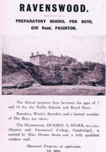 Fairy Cove, Paignton History