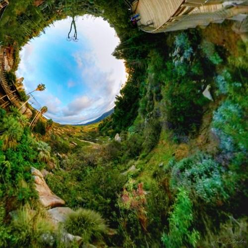 Safari Park, San Diego USA Inverted Planet