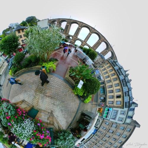 Morlaix, France Tiny Planet