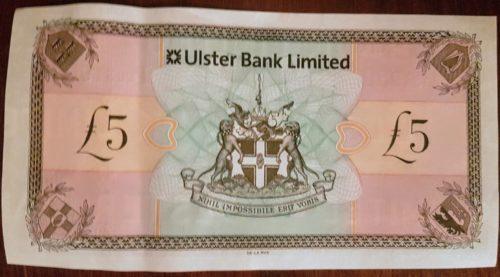 Northern Irish £5