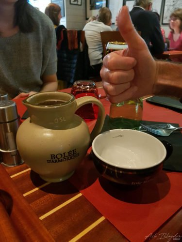 Perros Guirec cider bowl