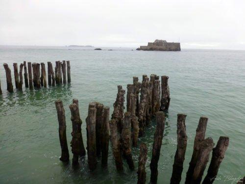 Island off Roscoff, France