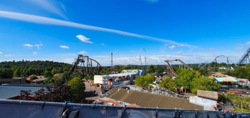 View of theme park