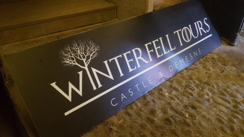Game of Thrones Winterfell, Castle Ward, Northern Ireland