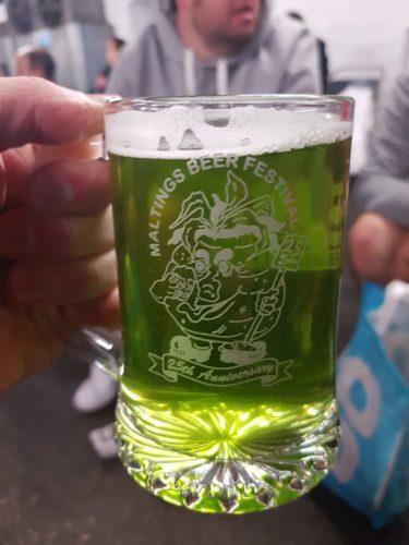 Sign of Spring - Stonehenge Brewery Tuckers Maltings Beer Festival