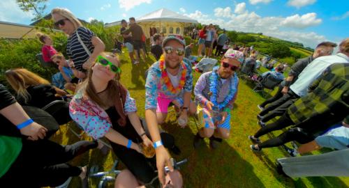 Occombe Festival Paignton Flying Cam Planet