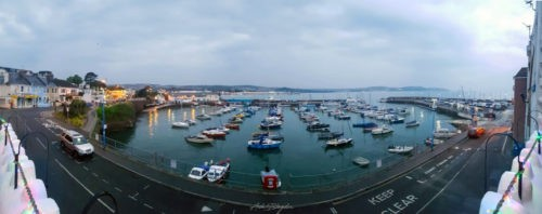 View from TJ's Paignton Harbour
