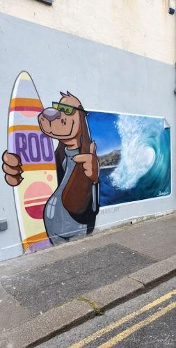 Street Art Towan Beach