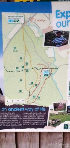 Map of the circular trials.