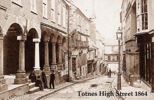 Totnes High Street 1864