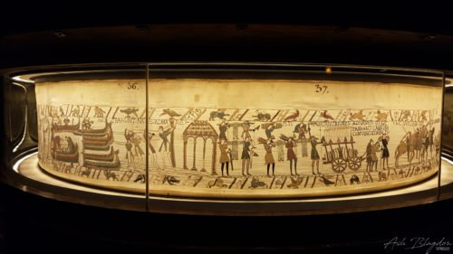 Bayeux Tapestry, France 2016
