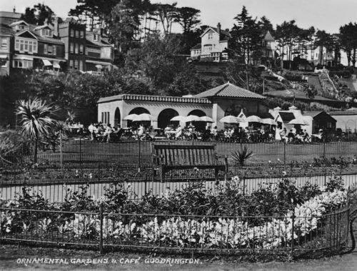 Goodrington Park Spanish Cafe c.1959