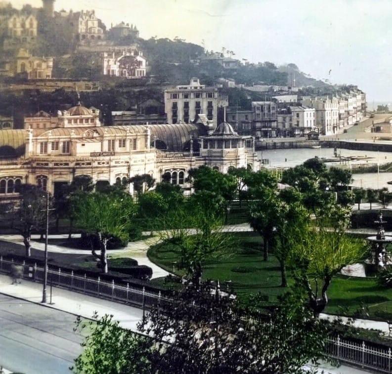 Princess Gardens from Rock Walk, 1920s, Torquay - History