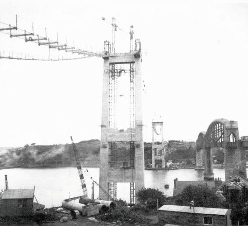 Tamar Bridge Plymouth History