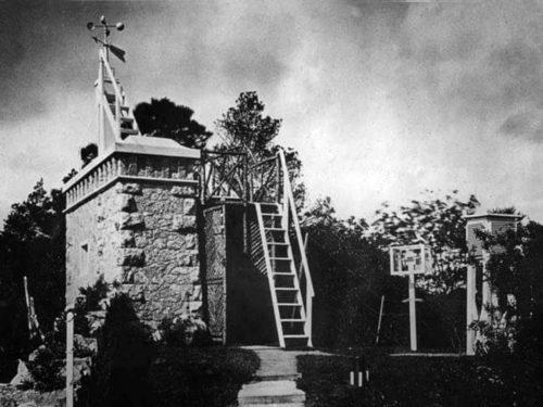 1900s Meteorological Observatory Chapel Woods Torquay History