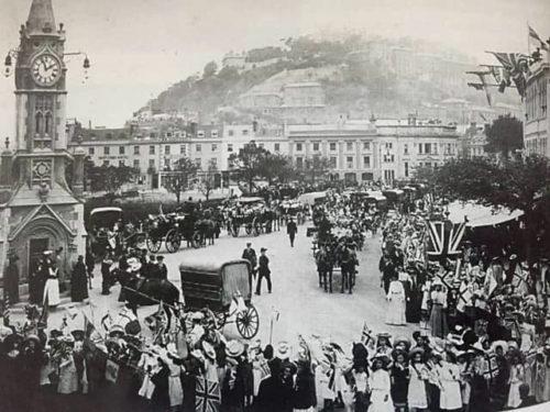 Empire Day 1905 Strand Torquay History