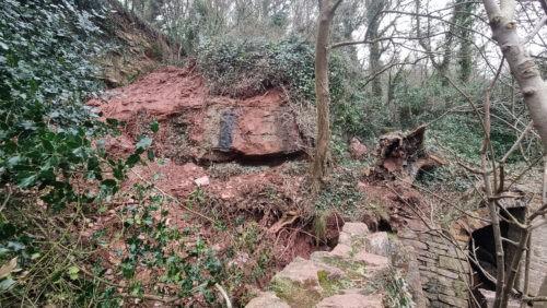Landslide Elberry Cove 2021 2