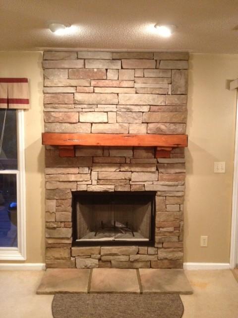 Fireplace Facelift  Nashville TN  Ashbusters Chimney Service