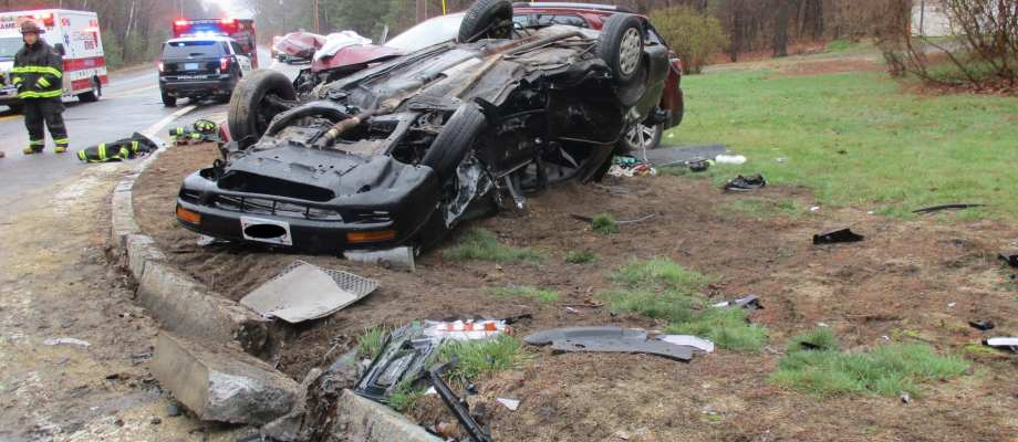 Ashby Police Respond to Serious Two-Car Crash