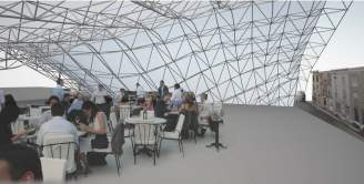 Emily Ashby, UVA, Architecture, parametrics, design, sustainable, space frame, structure