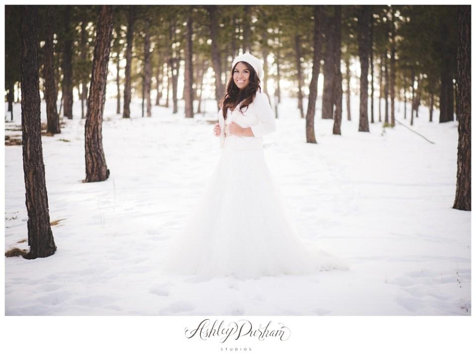 Colorado Springs bridal session, Denver wedding photographer, Colorado winter wedding, love the dress session, rock the dress session