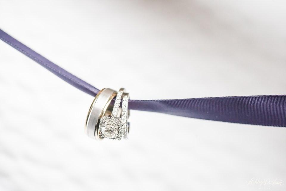 Green Mountain Ranch Wedding, wedding ring on ribbon