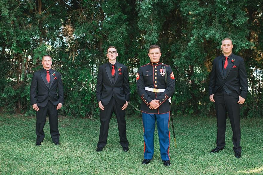 usmc groomsmen