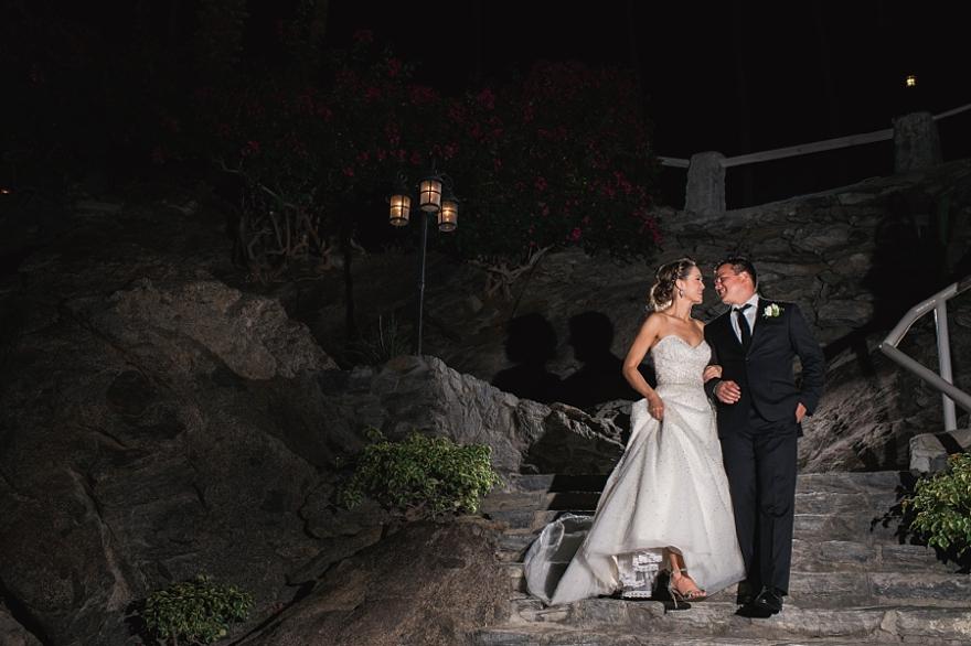 spencers palm springs wedding, ocf nighttime photography