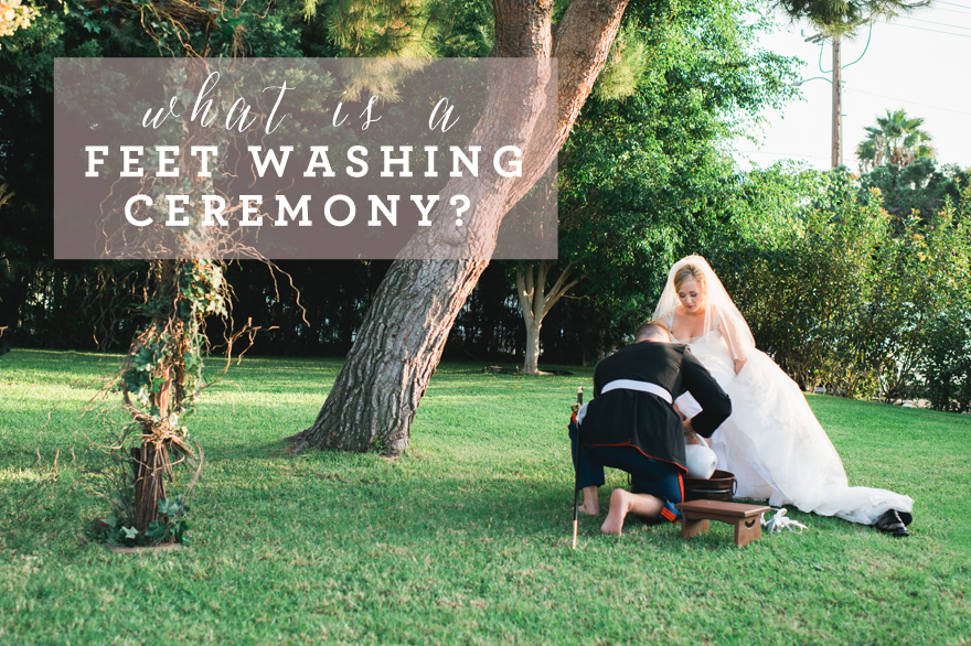 what is a foot washing ceremony