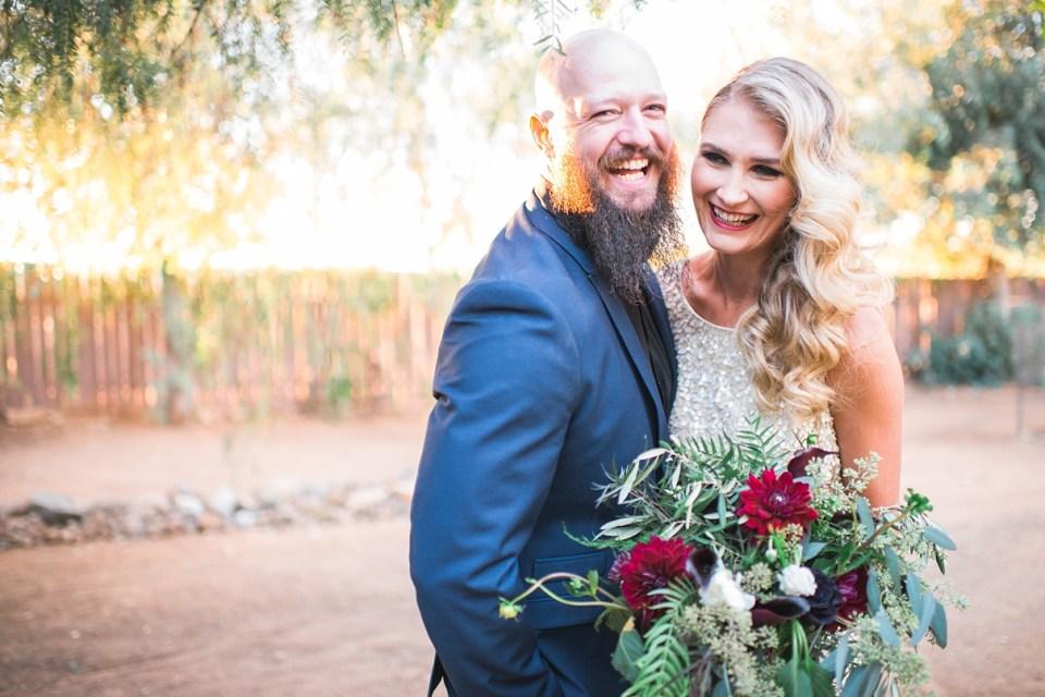 backyard vintage carnival wedding, menifee wedding, backyard wedding, sweet petals florist, gold and blue wedding