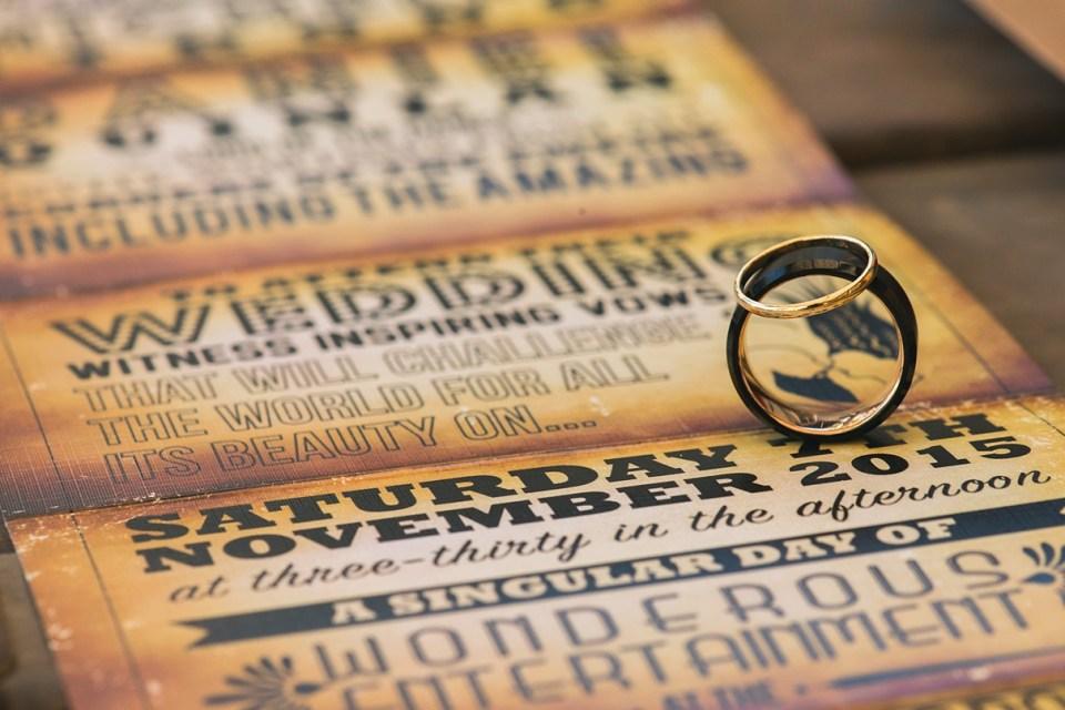 carnival wedding invitation, vintage wedding invitation, circus wedding, ring shot ideas, jaqi quinlan