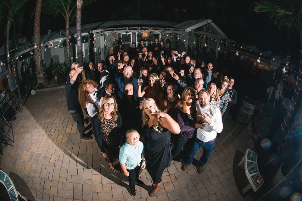 group dancing at weddings, backyard reception, group shots at receptions