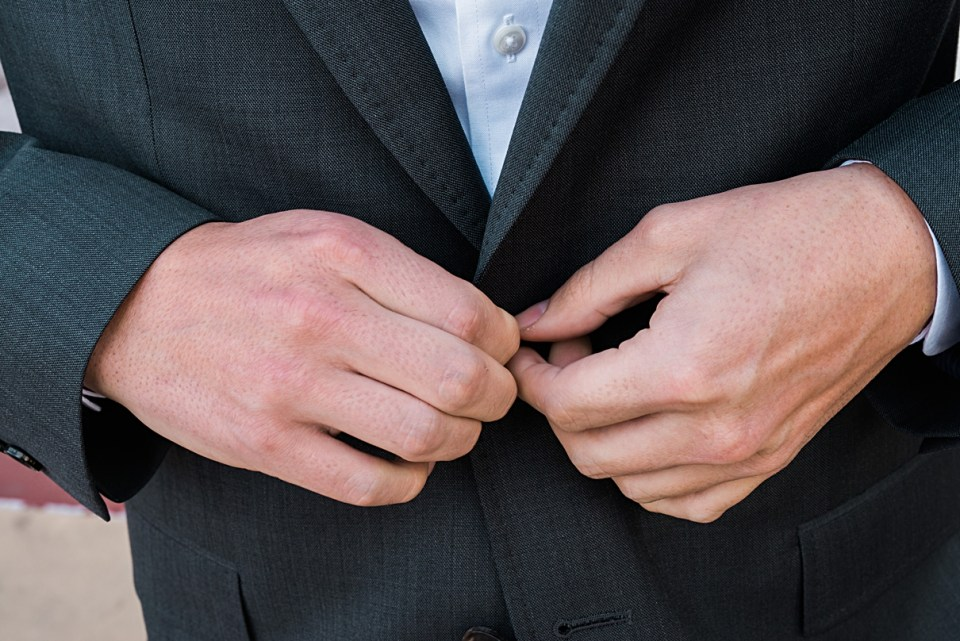 groom buttons