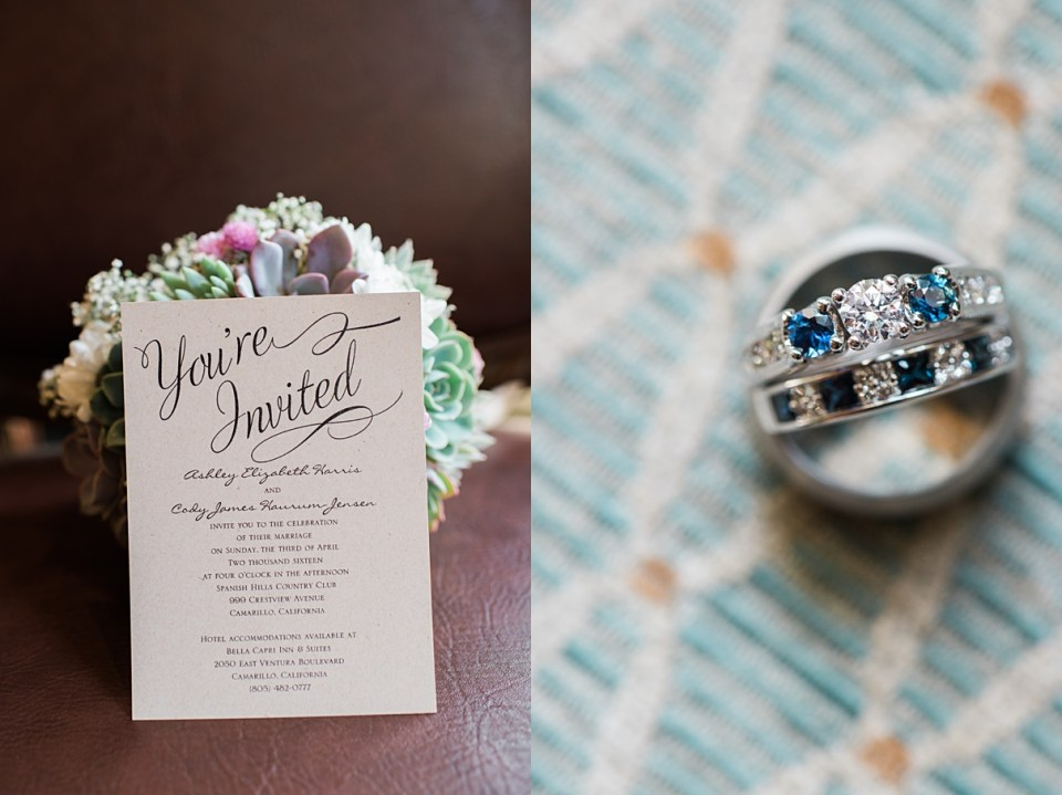 invitations by dawn, sapphire wedding ring
