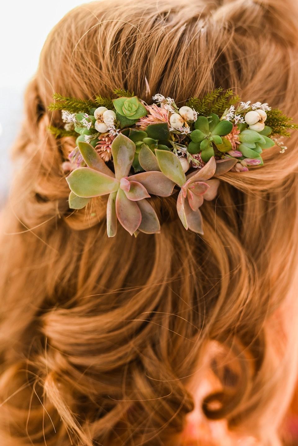 boho wedding hair inspiration for brides