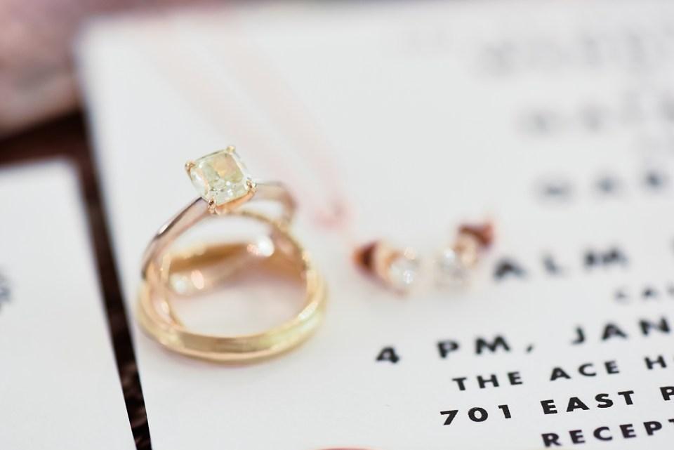 yellow diamond wedding ring