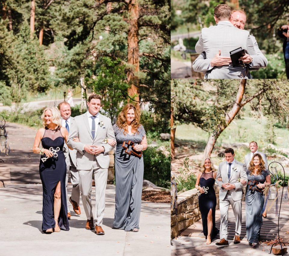 Della Terra wedding in Estes Park