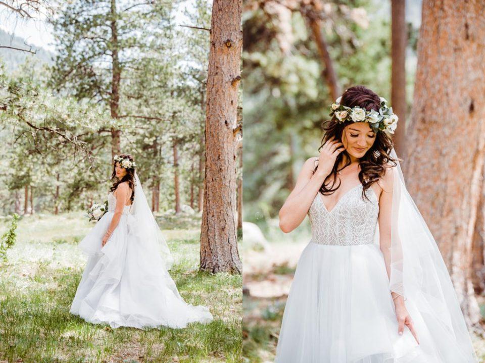 boho mountain bride