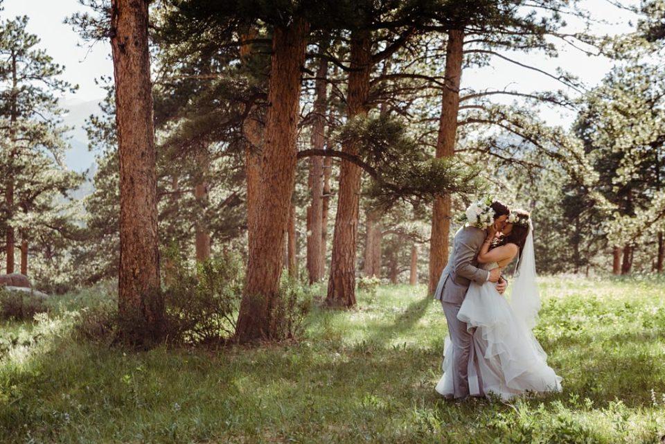 estes park wedding photos