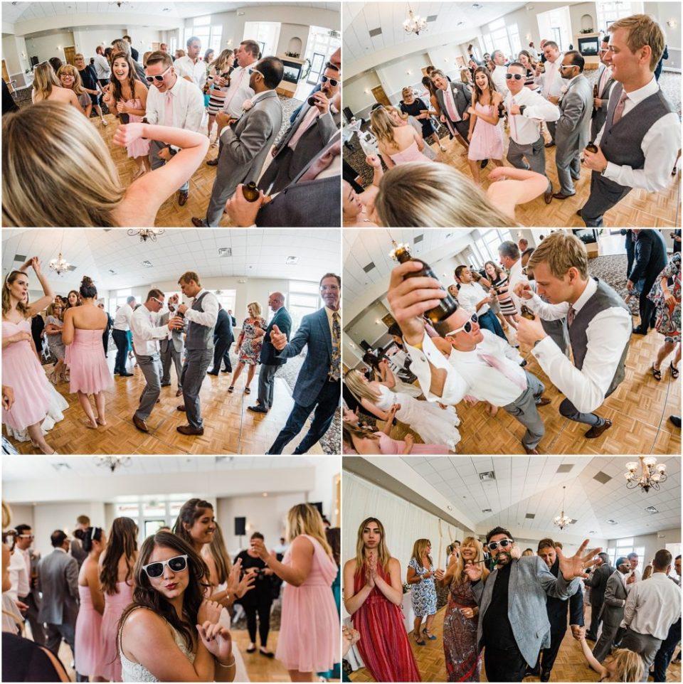 wedding reception photos at wedgewood ken caryl