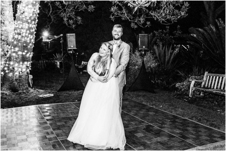 san diego botanic garden wedding reception dancing