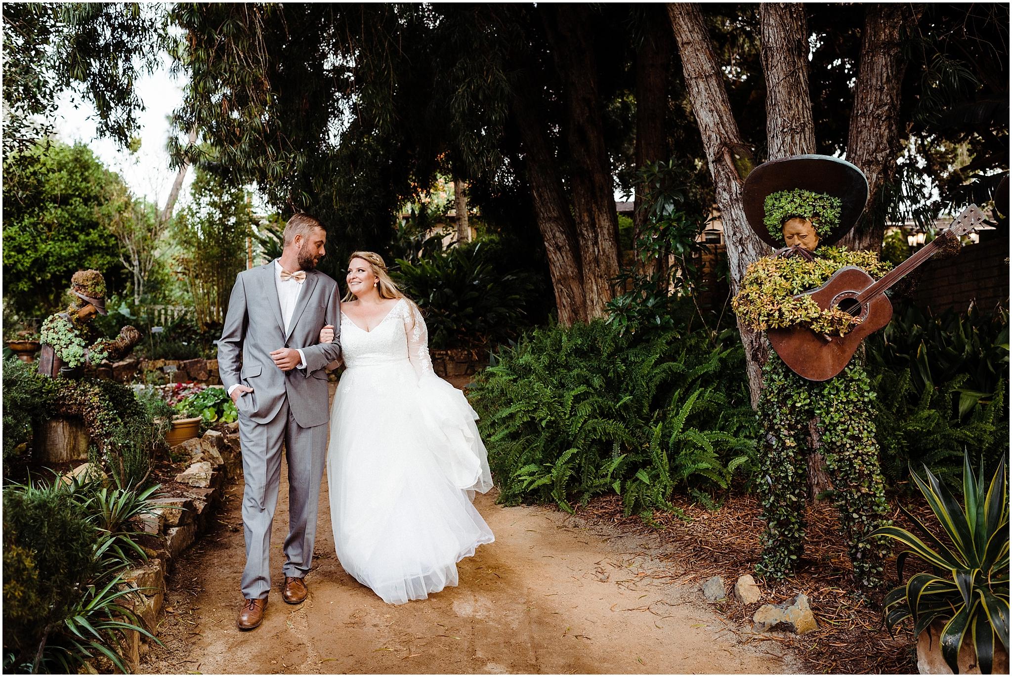 Whimsical San Diego Botanic Garden Wedding Shane Megan