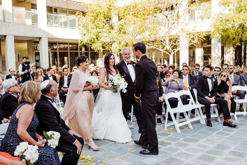 skirball center wedding ceremony