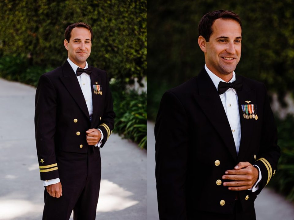 grooms portraits at skirball cultural center in los angeles