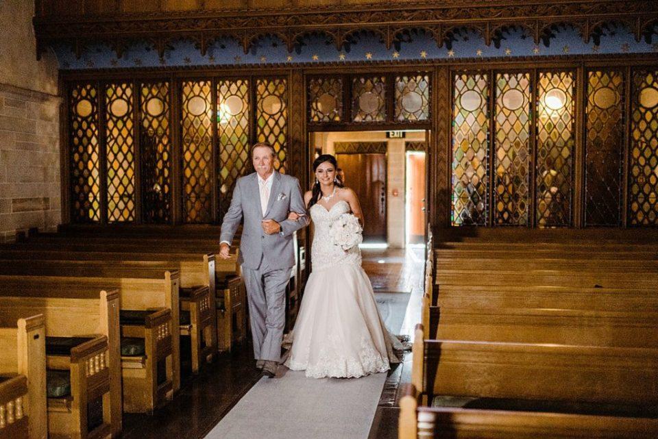 shove chapel wedding ceremony