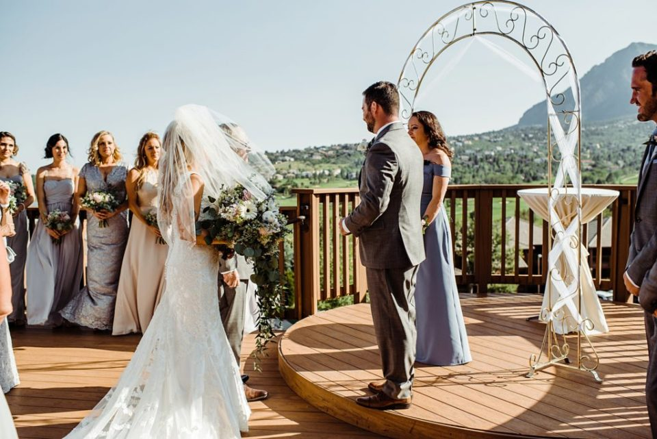 cheyenne mountain resort wedding in colorado springs