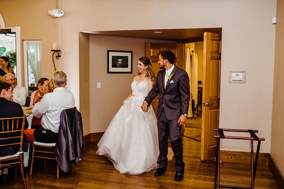 tapestry house wedding reception photos