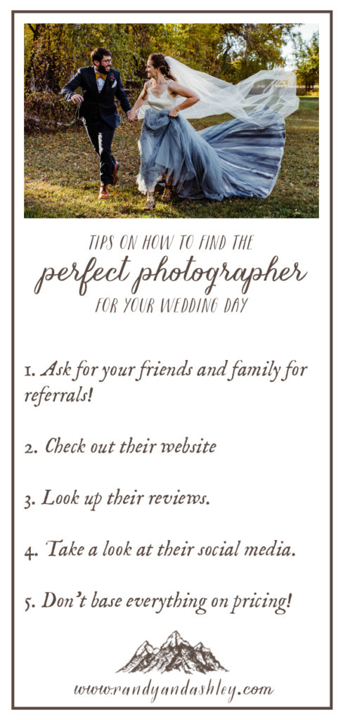 Check out our top tips on how to find the perfect photographer for your wedding!