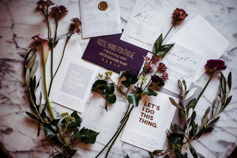 minted invitation suite