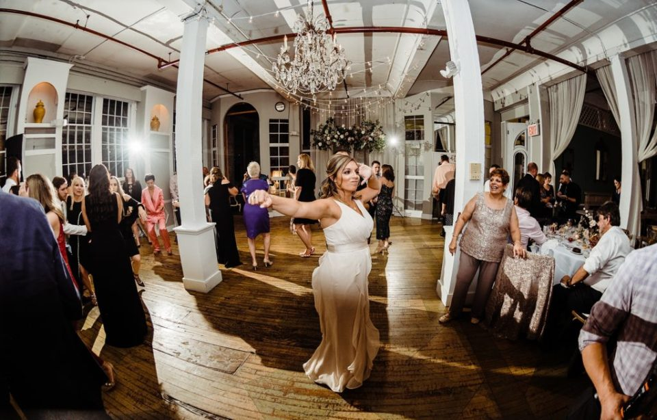 new york wedding reception at the metropolitan building in long island city